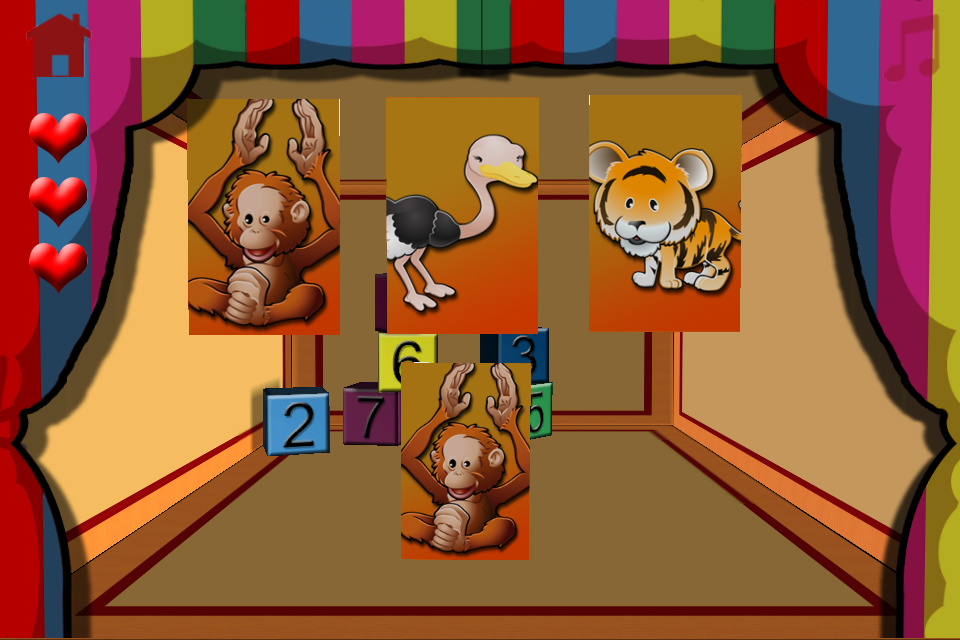 Screenshot Babies and jungle animals